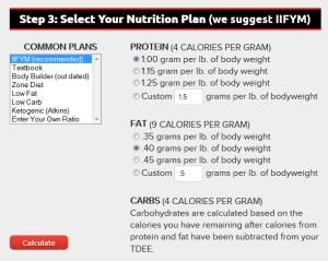 nutrition plan